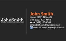 Business card design and print service fineprinters personal business cards reheart Images