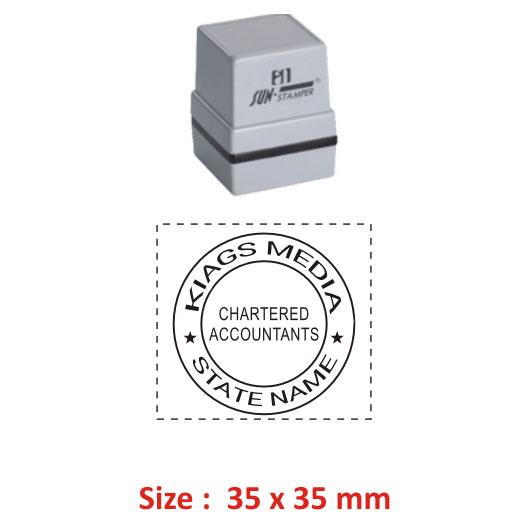 Sun Accountant Stamp 6
